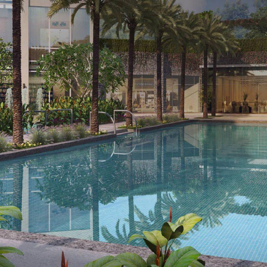 DLF The Crest Pool