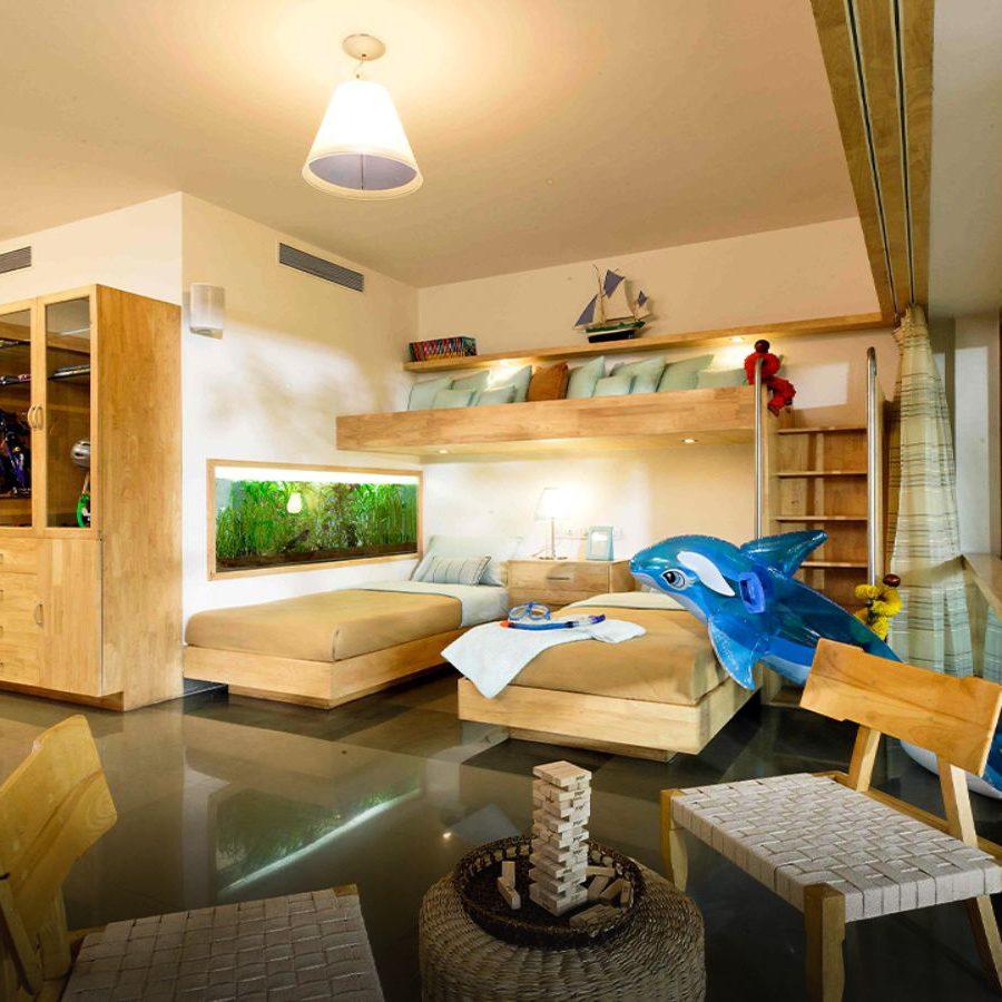 Total Environment - Windmills of Your Mind - Duplex - Children's bedroom