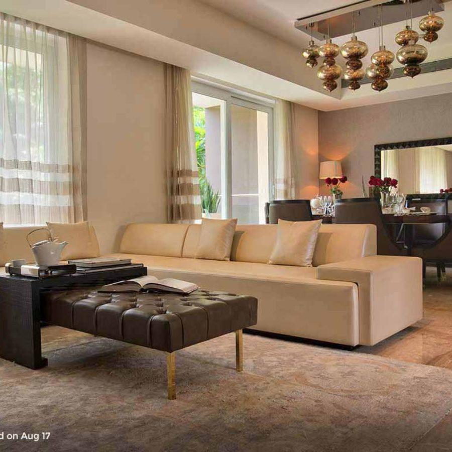 Mahindra Luminare - Living Area