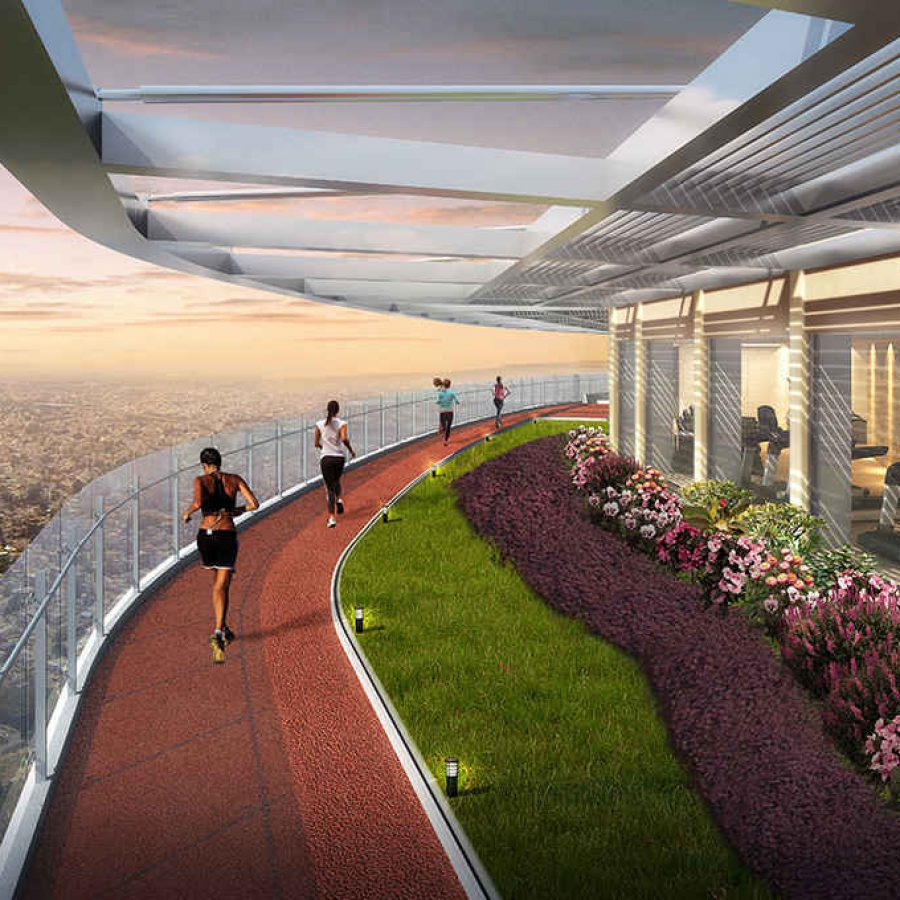ROOFTOP JOGGING TRACK